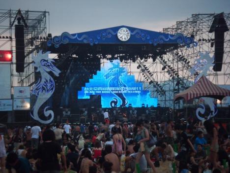 Das Festival ist ein bedeutender Treffpunkt für bekannte sowie unbekannte Independentbands