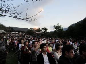 mehrere tausend Besucher kommen jährlich zum Taroko Musikfestival
