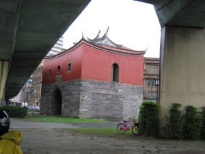 Westtor- Überbleibsel der alten Stadtmauer