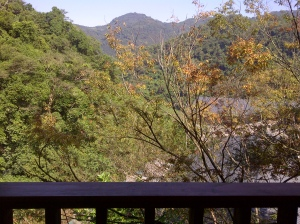 Und die Aussicht vom Balkon