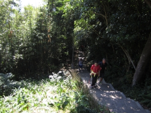 Wanderweg am Guanyinshan
