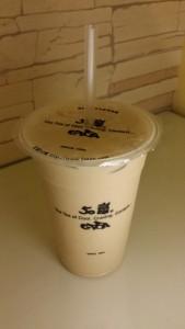 Der typische taiwanische Milchtee, hier ohne Tapioka Perlen.